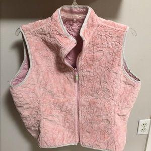 Woolrich Reversible Pink Vest XL